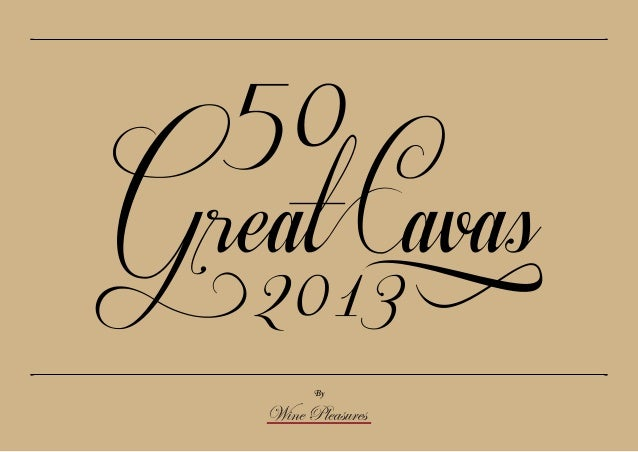 50 Great Cavas 2013 - an outstanding year!