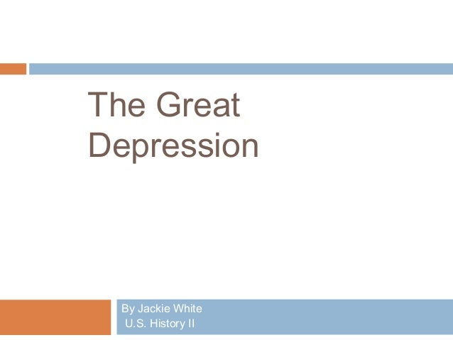 Chapter 22 The GReat Depression