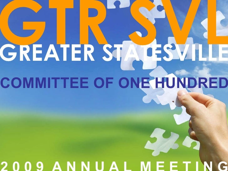 Greater Statesville C100 Meeting