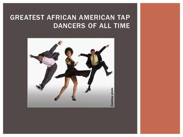 Clip art picture of an african american boy tap dancing