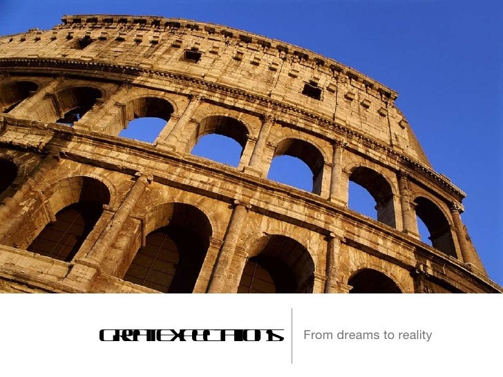 Great Expectations <ul><li>From dreams to reality </li></ul>