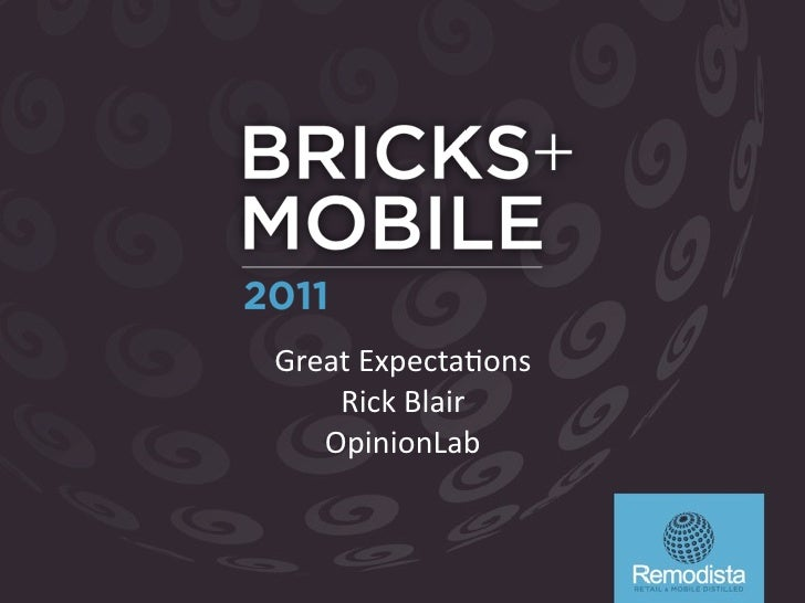 Bricks and Mobile - Great Expectations