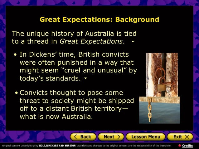Introduction for charles dickens great expectations?