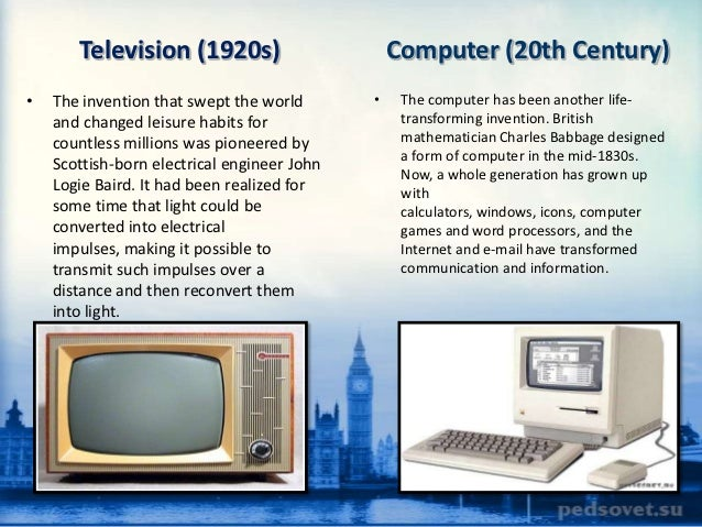 invention of television essay