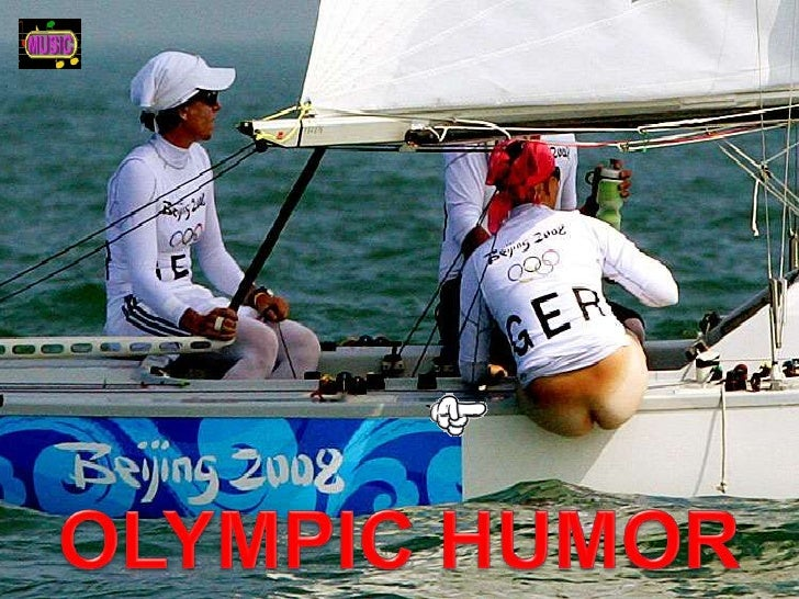 OLYMPIC HUMOR<br />