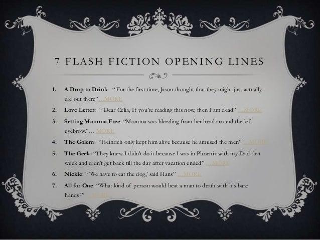 A fictional story