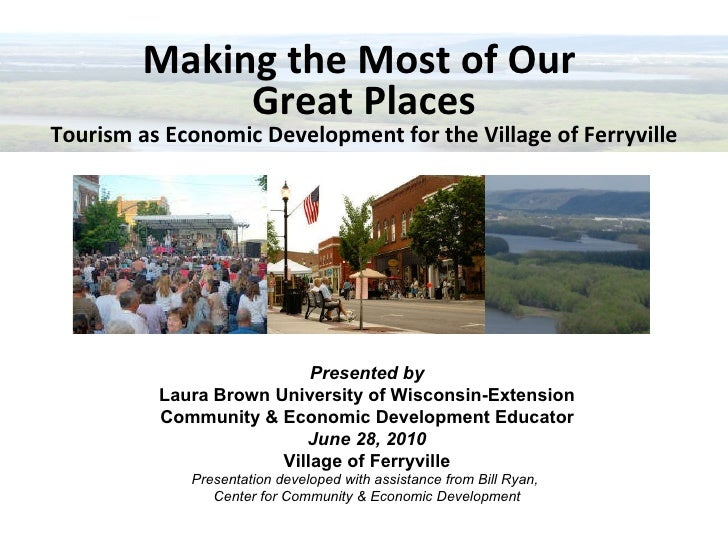 Great places ferryville presentation 6 28-10