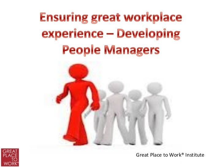 Great place to work presentation