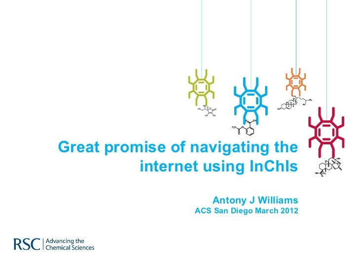 Great promise of navigating the          internet using InChIs                     Antony J Williams                 ACS S...