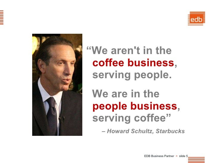 howard schultz management style The founder returns: howard schultz is back as ceo of starbucks starbucks management put large, automated machines between the barista and the customer.