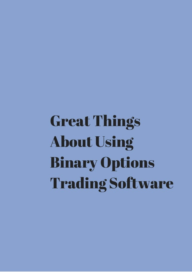 Binary options how they work
