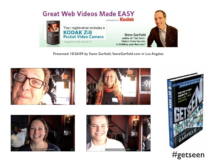 Great Web Videos Made Easy Slideshare