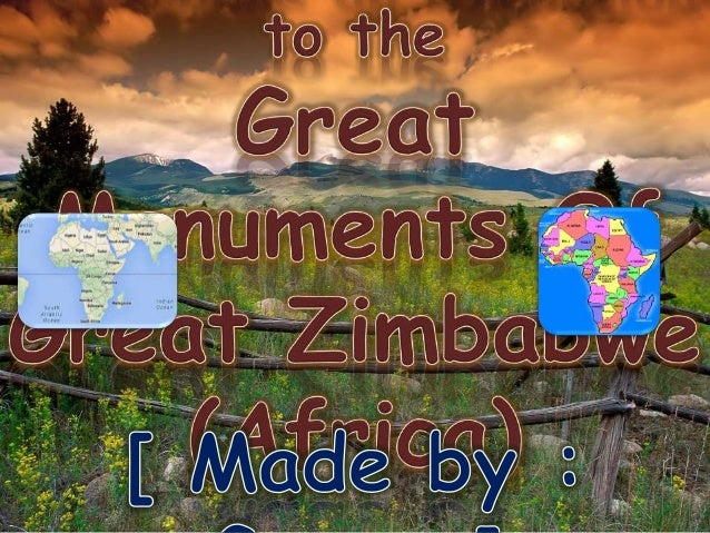 ppt on zimbabwe Health information for travelers to zimbabwe traveler because you can get hepatitis a through contaminated food or water in zimbabwe powerpoint file.