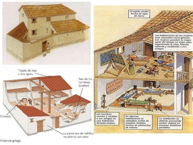 Grecia antigua polis esparta y atenas Casas griegas antiguas