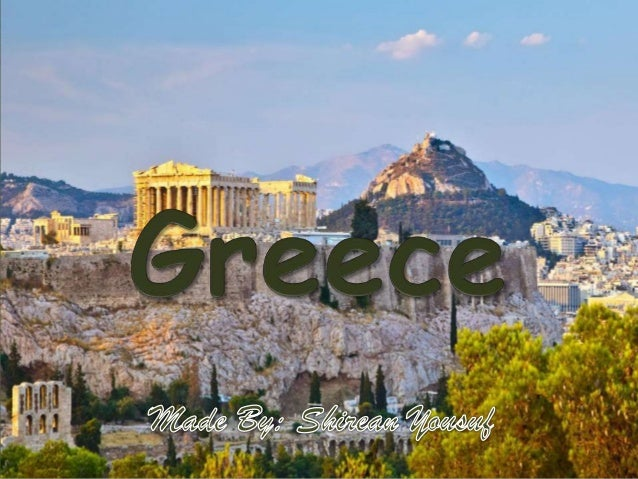 Greece is made of three major land groups, the mainland, the Peloponnesus peninsula and the islands offshore. The land is ...