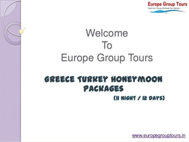 Greece Turkey Honeymoon Packages