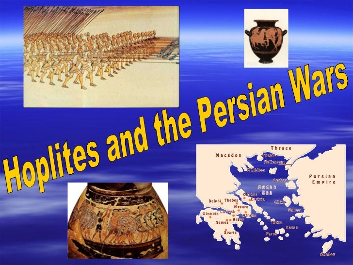 Hoplites and the Persian Wars