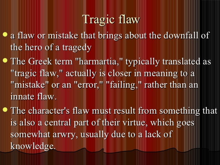 what does tragic hero mean