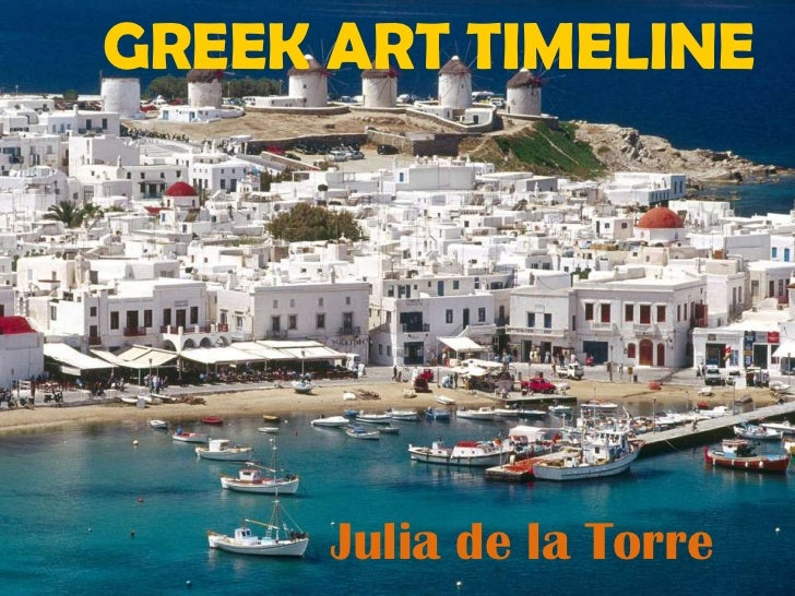 Greek art timeline