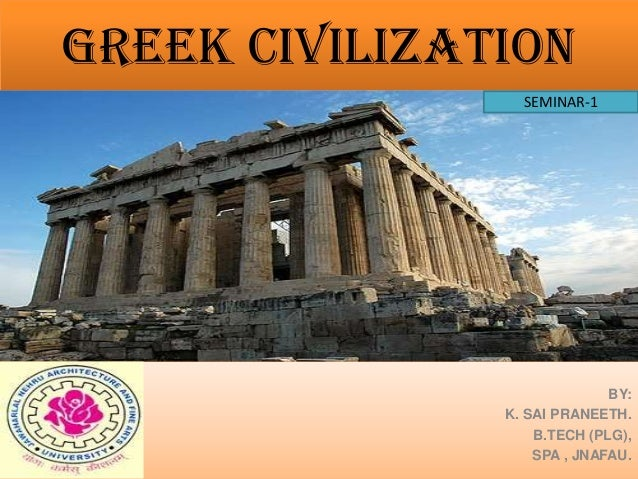 an introduction to the culture and origins of the earliest greek civilization Ancient greece was a civilization belonging the archaic period saw early developments in greek culture and economic history of ancient greece the greek.