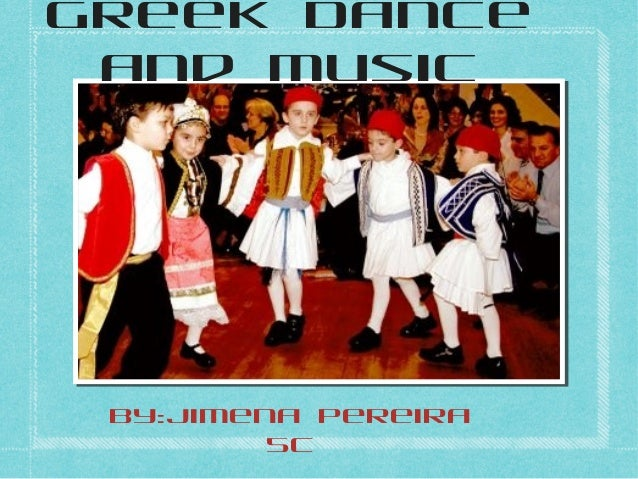 Greek dance and music jime