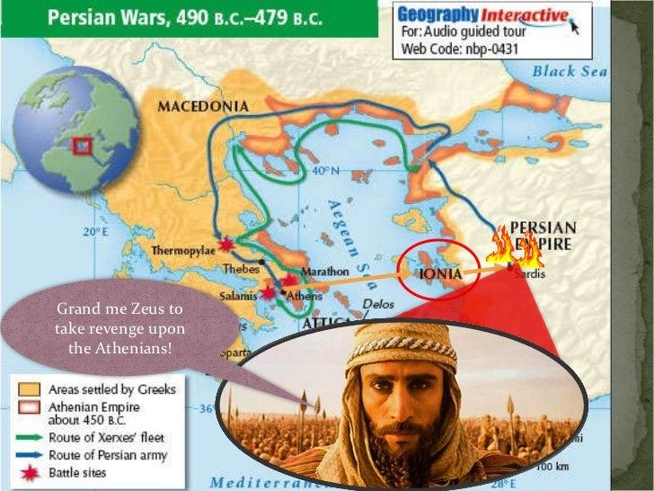 Grand me Zeus to take revenge upon the Athenians!