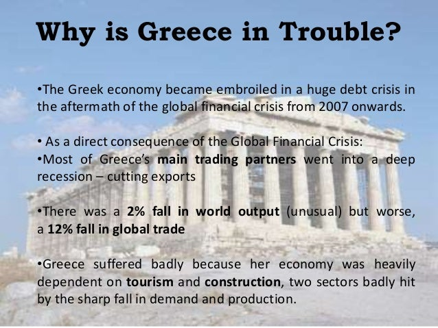 Economics Essay Sample: Greek Debt Crisis