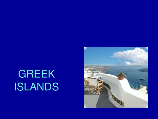 Greek islands !!