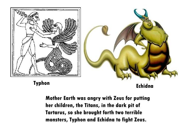 how to draw echidna mythology