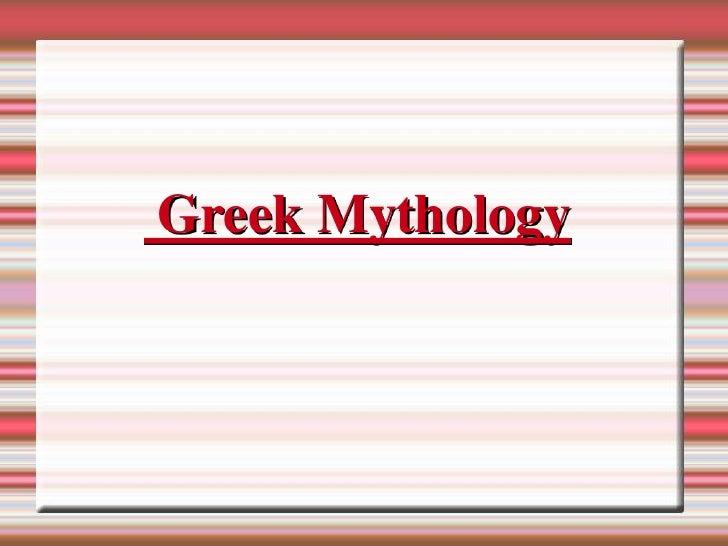 1º ESO. Greek mythology