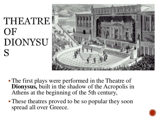 Greek Theatre Presentation