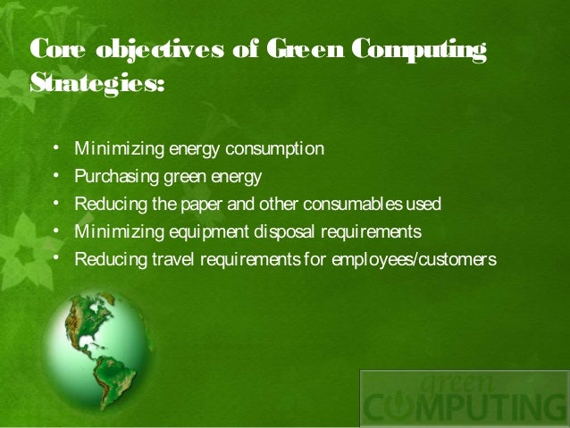 Papers on green computing
