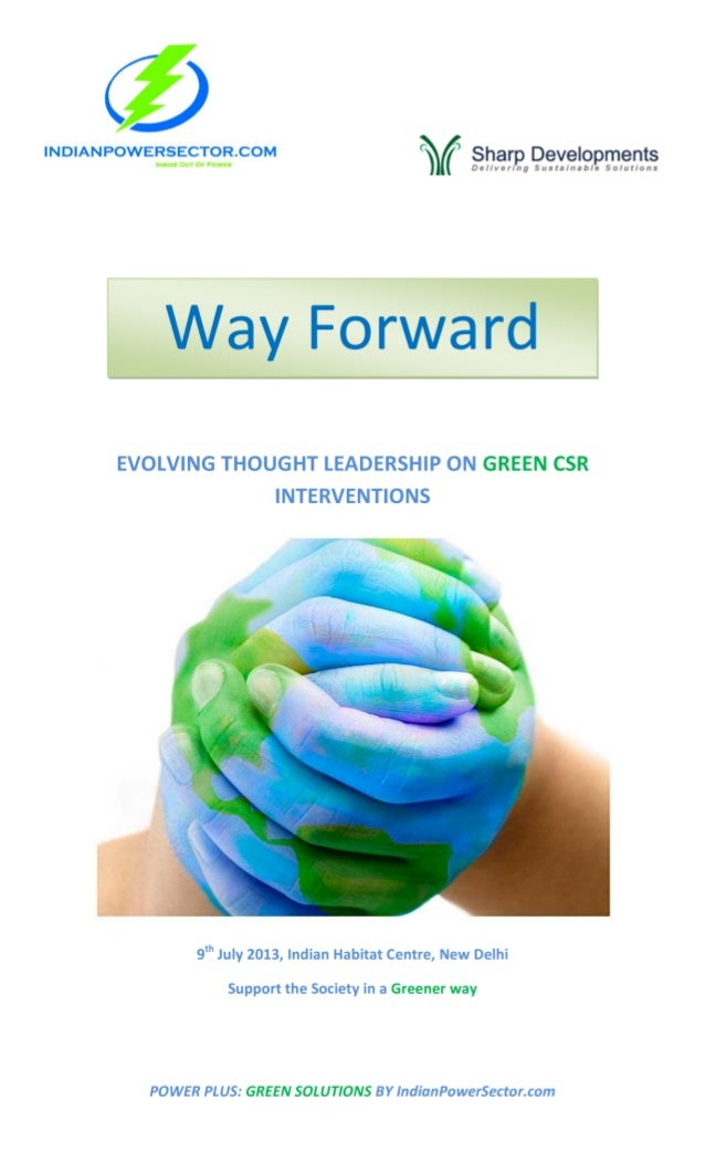 Green csr-conference-backgrounder -indian powersector.com