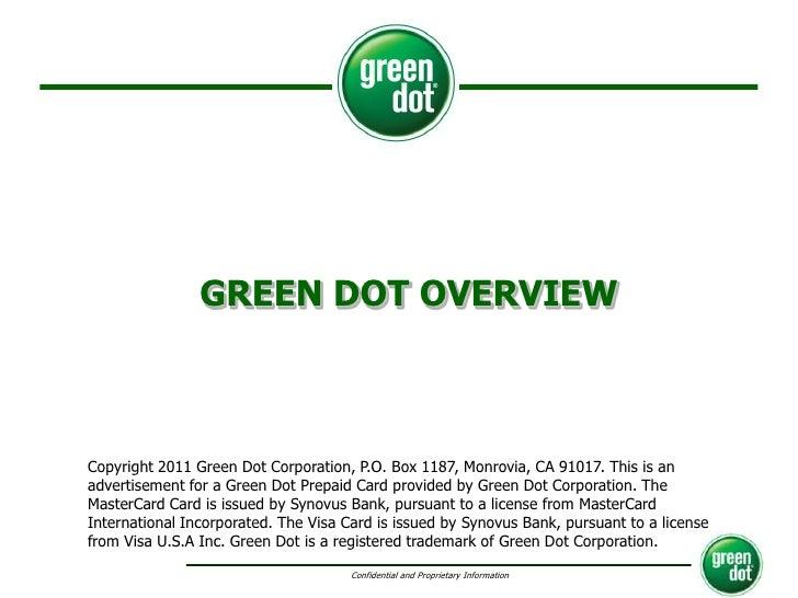 Green Dot Card