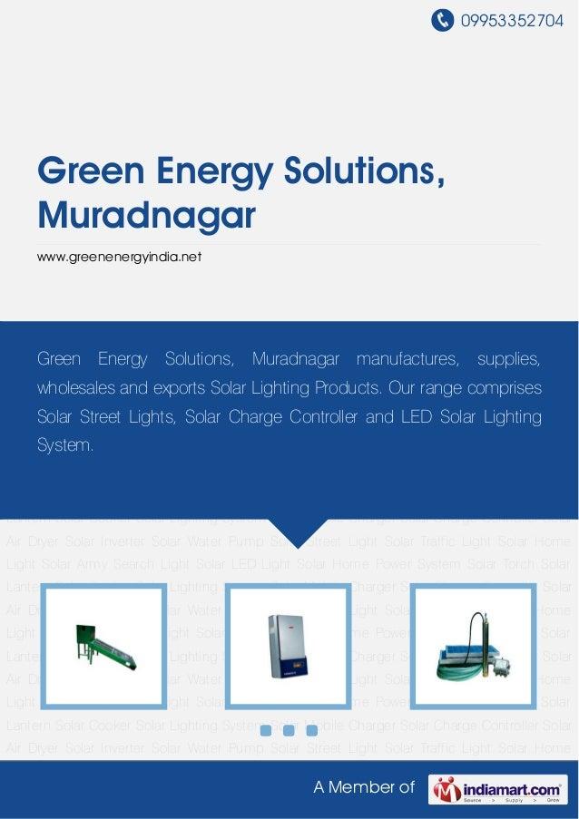 Solar Home Light by Green energy solutions muradnagar