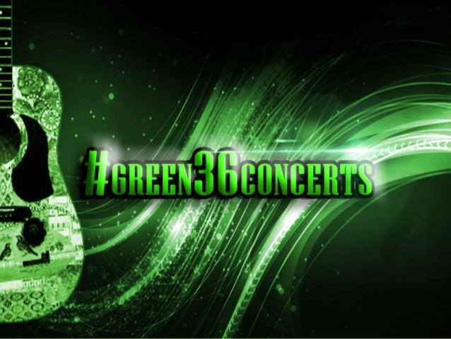 Green36 sign up presentation