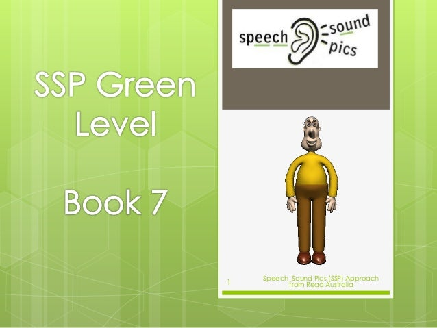 Speech Sound Pics (SSP) Approach from Read Australia1