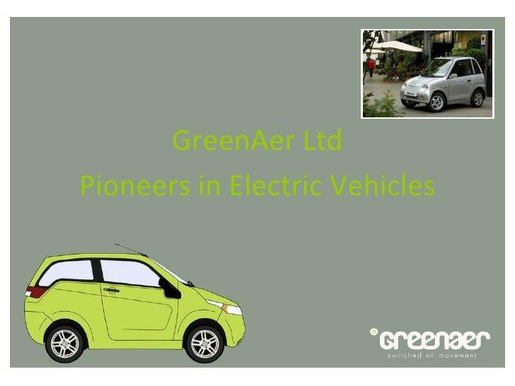 GreenAer Ltd Pioneers in Electric Vehicles