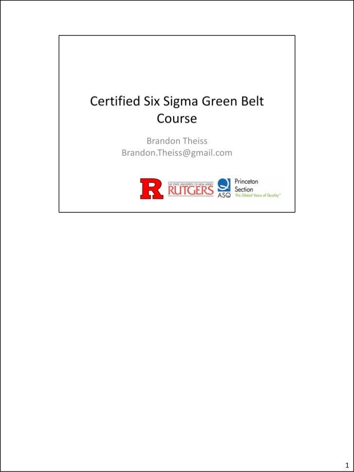 Greenbelt review