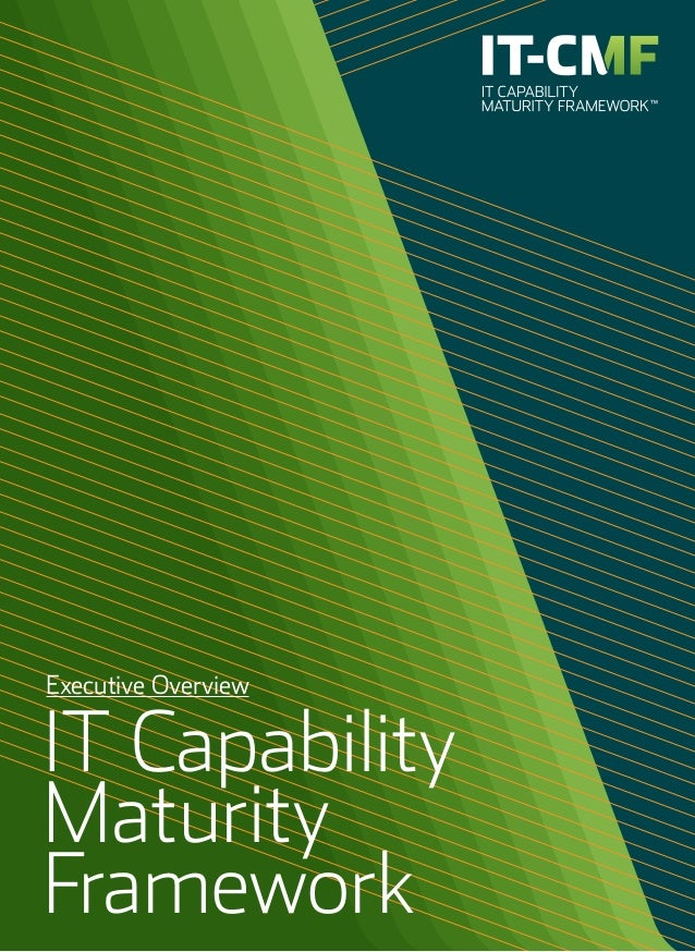 Executive Overview of IT Strategy and Capability Maturity Framework