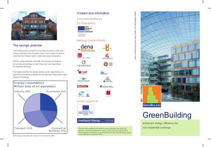 The GreenBuilding Programme