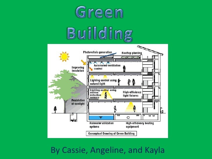 Green Building<br />By Cassie, Angeline, and Kayla<br />