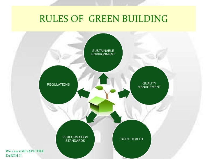 Green Building Concept the