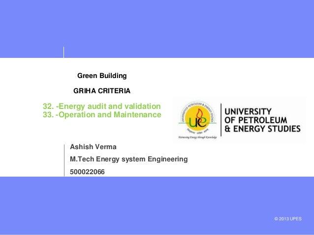 Green building GRIHA  criteria 32 &33