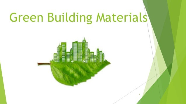 Sustainable Building Materials Driverlayer Search Engine