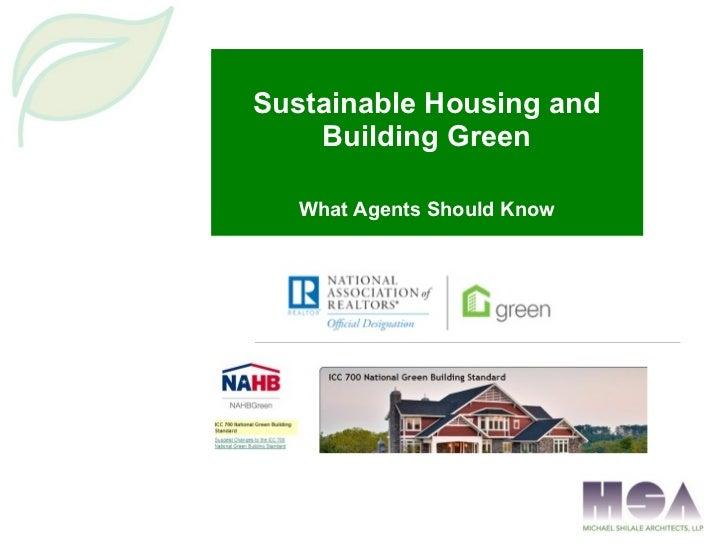 Green building presentation 1 24-12
