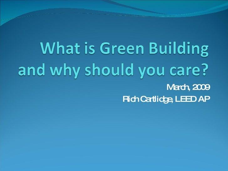 Green Building Presentation