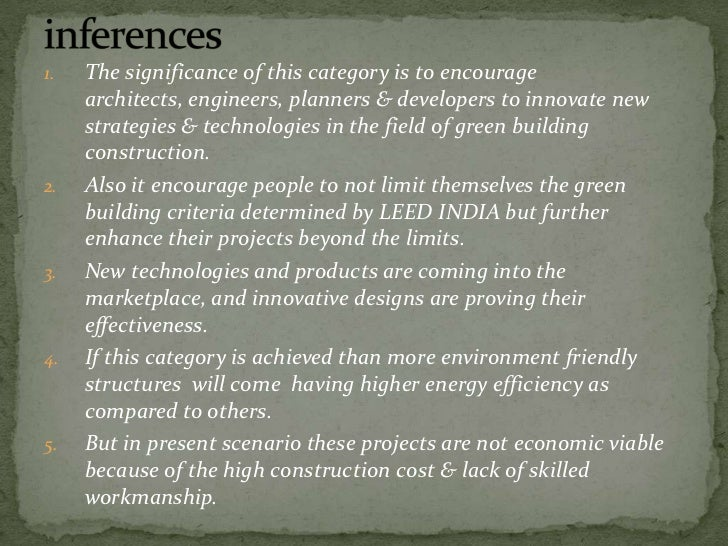 Green Buildings a Case Study