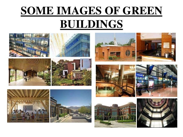 Green House Buildings Ppt
