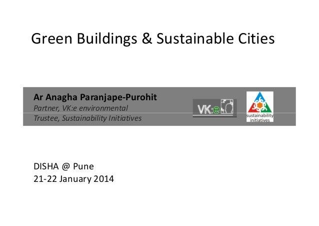 Green buildings & smart cities